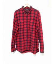 RRL(ダブルアールエル)の古着「チェックネルシャツ」|レッド