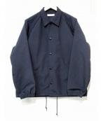 LIVING CONCEPT(リビングコンセプト)の古着「マットコーチジャケット」|ブラック