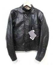 Lewis Leathers(ルイスレザー)の古着「UNIVERSAL RACER MK2ライダースジャケット」|ブラック