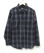 BLACK SIGN(ブラックサイン)の古着「ワークシャツ」|グレー×ブラック