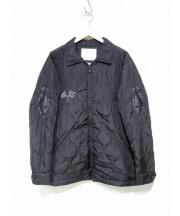 White Mountaineering(ホワイトマウンテニアリング)の古着「キルティングベトナムジャケット」 ブラック