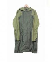 F/CE(エフシーイー)の古着「COOLMAX TRAVELLER SPRING COAT」|グリーン