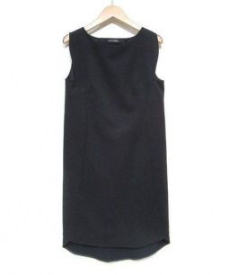 YOKO CHAN(ヨーコチャン)の古着「ノースリーブワンピース」|ブラック