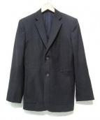 JIL SANDER(ジルサンダー)の古着「ウールテーラードジャケット」|ブラック