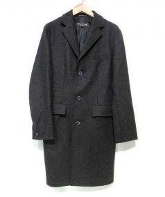 MACKINTOSH(マッキントッシュ)の古着「チェスターコート」|ブラック
