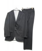 Takizawa Shigeru(タキザワシゲル)の古着「ウールセットアップスーツ」|グレー