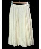 MYLAN(マイラン)の古着「リネンスカート」|ホワイト