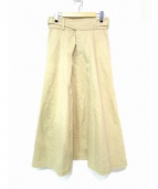 SINME(シンメ)の古着「別注グルカチノスカート」|ベージュ