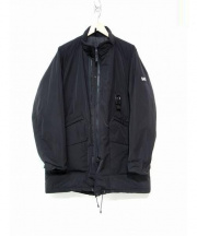 BACH(バッハ)の古着「中綿スタンドカラージャケット」|ブラック