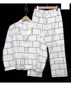 NOWHAW × HIMAA(ノウハウ×ヒマ)の古着「コラボパジャマセットアップ」|ホワイト