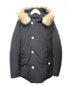 WOOLRICH(ウールリッチ)の古着「アークティックパーカー ジャケット」|ブラック