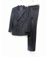 Takizawa Shigeru(タキザワ シゲル)の古着「ダブルタキシードスーツ」|ブラック