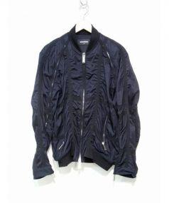 DSQUARED2(ディースクエアード)の古着「ナイロンジャケット」|ネイビー