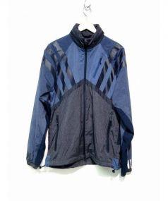 adidas Originals by White Mountaineering(アディダス オリジナルス バイ ホワイトマウンテニアリング)の古着「ナイロンジャケット」|ブルー