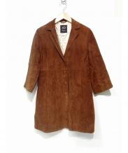Cinquanta(チンクアンタ)の古着「スウェードコート」|ブラウン