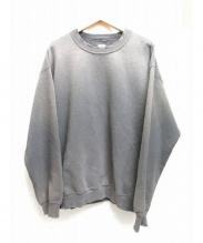 SASQUATCHfabrix.(サスクワッチ ファブリックス)の古着「ヴィンテージ加工スウェットシャツ」|グレー