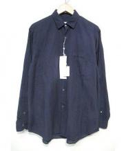 COMOLI(コモリ)の古着「ベタシャンコモリシャツ」|ネイビー
