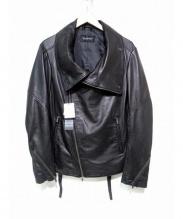 TORNADO MART(トルネードマート)の古着「シープレザージャケット」|ブラック