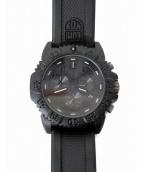 LUMINOX(ルミノックス)の古着「Seal Colormark Chronograph」|ブラウン