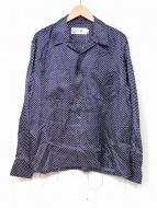 JOHN MASON SMITH(ジョン メイソン スミス)の古着「カットオフオープンカラーシャツ」