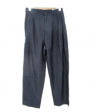 Hed Mayner(ヘド メイナー)の古着「PLEATED WIDE PANTS」