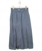Lautashi(ラウタシー)の古着「デニムスカート」 インディゴ