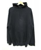 BALENCIAGA(バレンシアガ)の古着「Hood Logo Hoodie」|ブラック