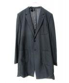 N.HOOLYWOOD(エヌハリウッド)の古着「903pegチェスターコート」|ブラック