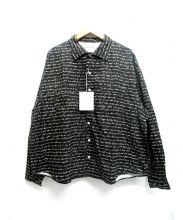 FLAGSTUFF(フラッグスタッフ)の古着「Heart Sutra L/S Shirts」|ブラック