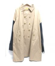 FR2(エフアールツー)の古着「切替トレンチコート」|ベージュ