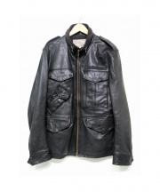 AVIREX(アヴィレックス)の古着「M-65 CUSTOM MILITARY JACKET 」|ブラック