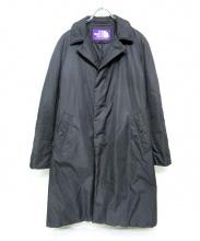 THE NORTHFACE PURPLELABEL(ザ・ノースフェイス パープルレーベル)の古着「中綿ステンカラーコート」|ブラック