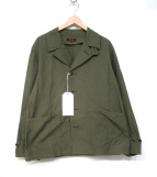 A VONTADE(ア ボンタージ)の古着「Utility Coverall Jacket ジャケット」|オリーブ