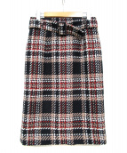JUSGLITTY(ジャスグリッティー)の古着「ロービングチェックタイトスカート」