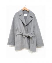 BALLSEY(ボールジー)の古着「プレミアムウールリバーベルテッドコート」