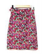 A.P.C.(アーペーセー)の古着「Ocean花柄グルカタイトスカート」
