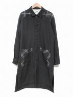 SToL(ストル)の古着「ロングシャツ」|ブラック