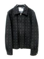 WACKOMARIA(ワコマリア)の古着「ジップメルトンジャケット」|ブラック
