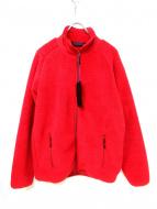 Needles Sportswear(ニードルズスポーツウェア)の古着「フリースジャケット」|レッド