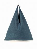 MM6(エムエムシックス)の古着「トライアングルデニムトートバッグ」