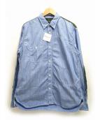COMME des GARCONS HOMME(コムデギャルソンオム)の古着「切替ストライプシャツ」