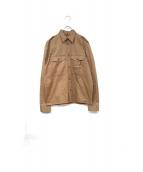 Martin Margiela 10(マルタンマルジェラ 10)の古着「バックボタンミリタリーシャツ」