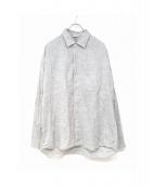 45R(フォーティファイブアール)の古着「シャンブレーシャツ」|グレー