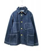 ATLAST & CO(アットラスト)の古着「デニムカバーオール」