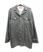 PHENOMENON(フェノメノン)の古着「デニムカバーオール」|ブラック