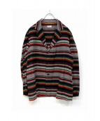 NAISSANCE(ネサーンス)の古着「MULTI-STRIPE JACKET」|マルチカラー
