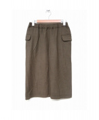 45rpm(45アールピーエム)の古着「スカート」|ベージュ