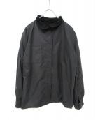 GIORGIO_ARMANI(ジョルジオ アルマーニ)の古着「リバーシブルジャケット」|ブラック