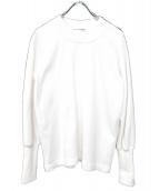 COMME des GARCONS SHIRT(コムデギャルソンシャツ)の古着「クルーネックスウェット」|ホワイト