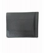 PRADA(プラダ)の古着「サフィアーノ札入れ」|ブラック